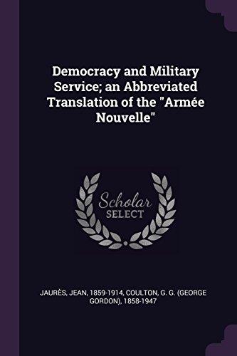 DEMOCRACY & MILITARY SERVICE A