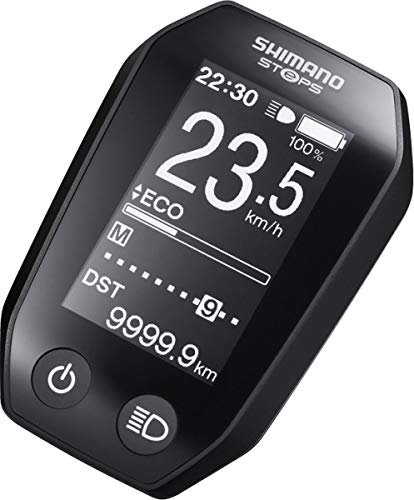 Shimano Steps SC-E6010 Informations-Display schwarz 2018 Schaltung