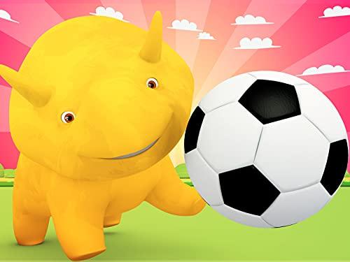 Fußball in aller Welt / Lerne etwas über den Sommer / Lerne Farben mit Dominosteinen / Spiele