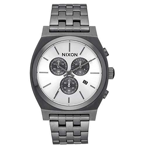 NIXON Reloj Cronógrafo para Hombre de Cuarzo con Correa en Acero Inoxidable A972632