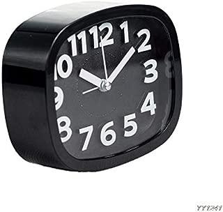Kztiton - Desktop Clock Digital - Mini Cute Portable Alarm Clocks Battery Bedside Desk Table Home Decor Kid Gifts Y110 - Sunlight Charger Green Speaker Homedics Come Lighted Kids Echo Sound Made Ti