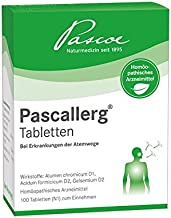 Pascallerg Tabletten bei Erkrankung der Atemwege, Pascoe Nat