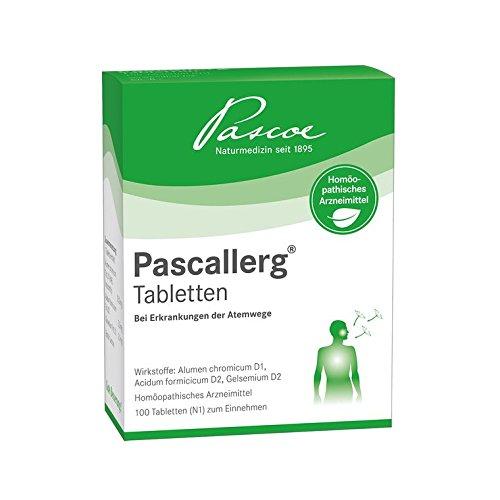 Pascallerg Tabletten Spar-Set 3x100St.Homöopathisches Arzneimittel bei Heuschnupfen. Für Erwachsene und Kinder ab 1 Jahr.