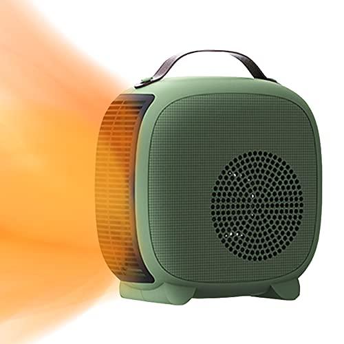SHPEHP Portatile Stufetta Elettrica Interno Utilizzare,Sicurezza Stufa Elettrica Riscaldamento 1100w 2200W,con Riscaldamento...