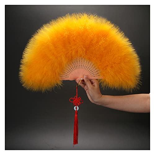 abanico plegable Lolita pluma plegable ventilador japonés dulce hadas niña oscuro gótico tribunal baile mano fanático arte arte regalo boda fiesta decoración abanicos plegables ( Color : SKU 16 )