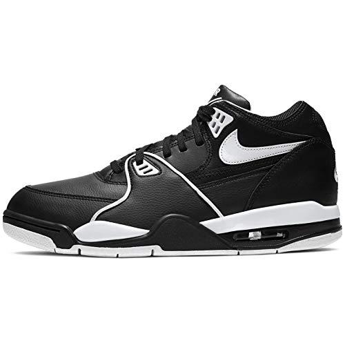 Nike Air Flight 89 Mens Cu4833-015 Size 9 Black/White