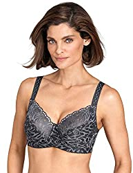 SUPPORT BRAS FOR WOMEN: With padded sides that lift, shape, and center the bust, this underwired bra is perfect for an evening out on the town. This lacy bra combines comfort, support, and beauty to bring you a gorgeous bra that you'll want to wear a...