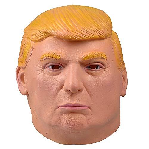 Lovelegis Machera - Donald - Trump - Adultos - Carnaval - Halloween - Disfraz - Cosplay - Idea de Regalo para cumpleaños