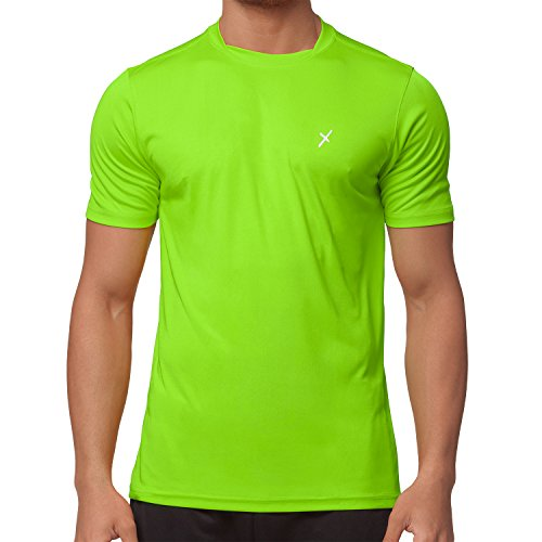 CFLEX Herren Sport Shirt Fitness T-Shirt Sportswear Collection - Electric Green S