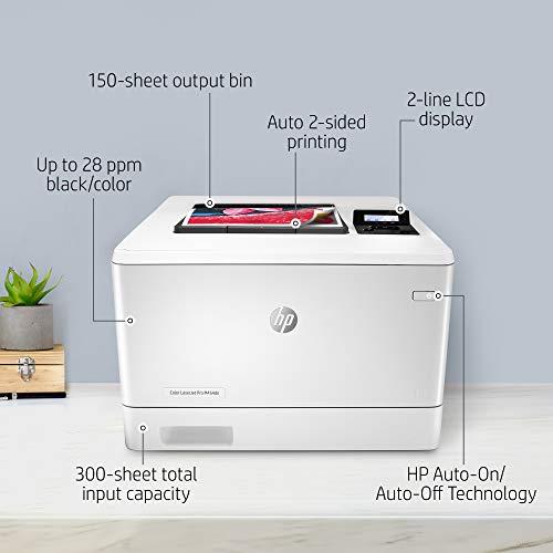 Color LaserJet Pro M454dn 600 x 600 DPI A4