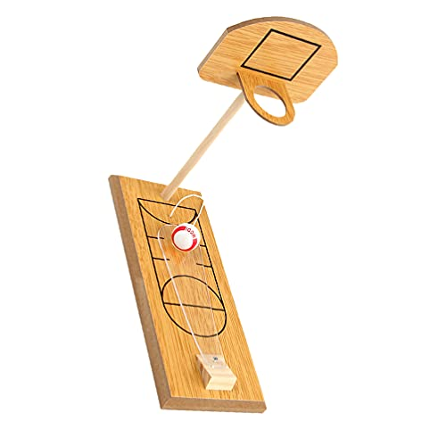 TOYANDONA Mini Desktop di Basket Giocattoli Desktop di Gioco di Tiro Desktop di Giocattoli Finger Pieghevole per La Casa Ufficio Scrivania Tavolino da Gioco Tavolo da Gioco
