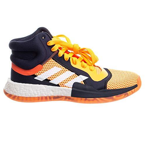 adidas Men's Marquee Mid Vegas Basketball Flash Orange/White/Legen Iink 8.5