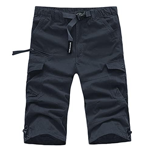 QiFei Urban Legend Ripstop 0604 Cargoshorts voor heren, met 6 zakken, cargbroek, korte broek, bermuda, zomer, herenshorts voor heren