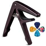 Kapodaster Gitarre Capo für Akustische Gitarre, E-Gitarre, Westerngitarre, Akustikgitarre, Konzertgitarre, Bass, Ukulele Mit