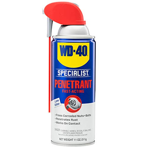 WD-40 Specialist Penetrant with SMART STRAW SPRAYS 2 WAYS, 11 OZ
