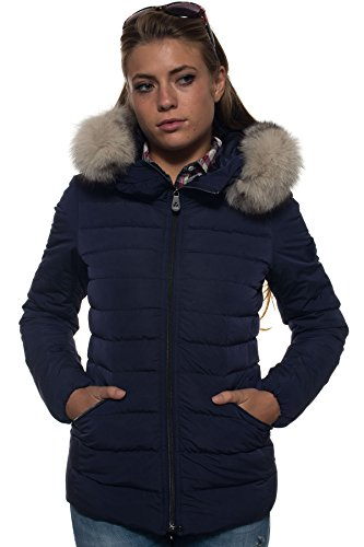 Peuterey Damen Mantel blau Königsblau 36