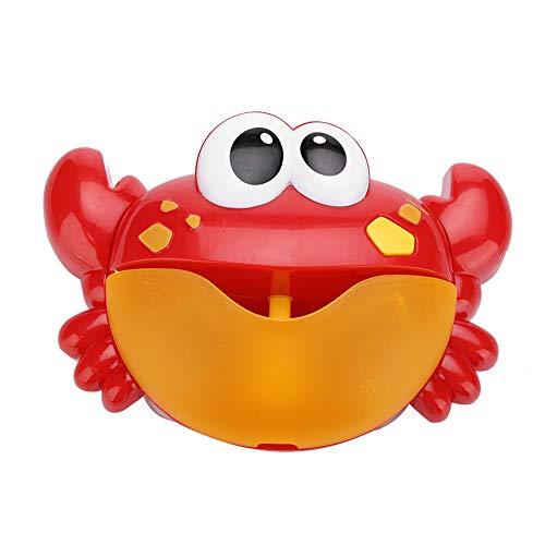 Zhjvihx Fabricación respetuosa del Medio Ambiente de la Burbuja del Cangrejo, Juguete plástico automático del baño del bebé, para el niño del bebé