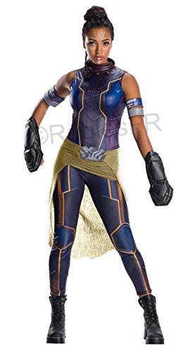 Rubie's Women's Marvel Black Panther Deluxe Shuri Costume, As Shown, Medium