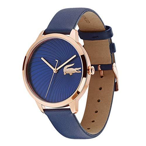 Lacoste Reloj Análogo clásico para Mujer de Cuarzo con Correa en Cuero 2001058