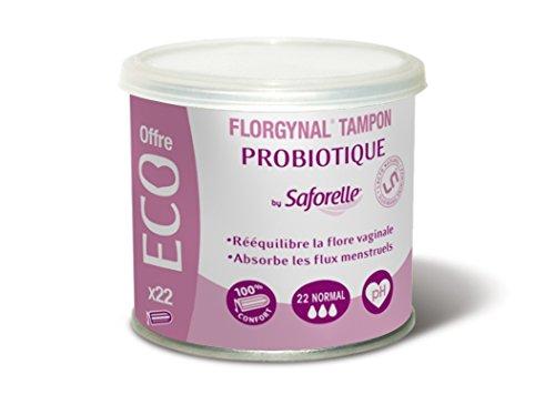 Florgynal Tampon Probiotique 22 Tampons 'Normal' Saforelle