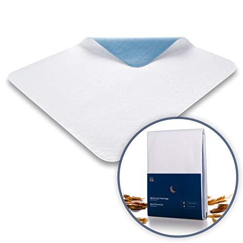 Blumtal Matratzenauflage, wasserdicht und waschbar - Saugvlies, 75x90cm, Inkontinenzunterlage (5er-Set)