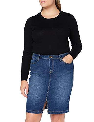 Lee Pencil Skirt Falda, Dark len, 31 para Mujer
