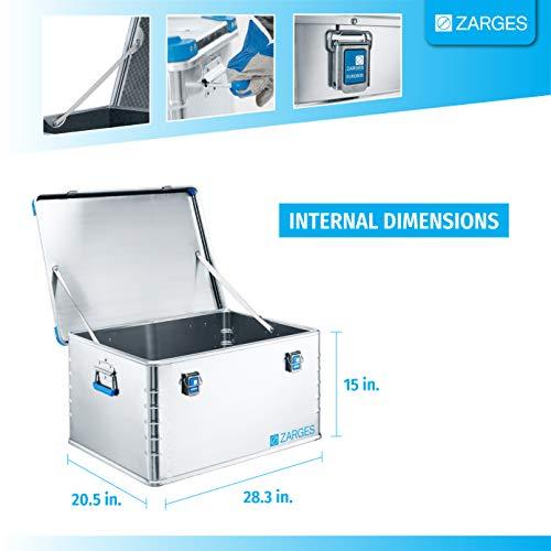 Relags Zarges Eurobox-157 L Box, Silber, 157 Liter - 2
