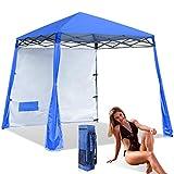 Best Beach Canopies - ABCCANOPY Pop-Up Canop Tent Comapct andd Lightweight Beach Review