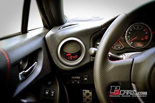 P3 Gauges Multi-Gauge In Dash Vent Display Compatible with 2013-16 Subaru BRZ / FT86 / Scion FRS
