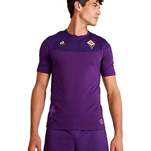 Le Coq Sportif Fiorentina Maillot Repl. Dom No SP SS M Camiseta, Mujer, Cyber Grape/C.Grape Intense, L