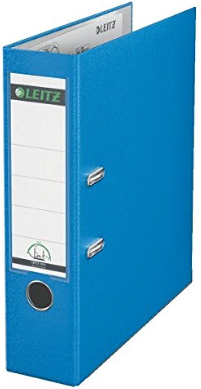 Sparpack Leitz 1010 Qualitäts-Ordner Plastik brei, mit patentierter 180º-Präzisionsmechanik 180º-Präzisionsmechanik 180º-Präzisionsmechanik 14 Farben zur Auswahl (12, hellblau) B00PAC8TLU   Schönes Design  759917