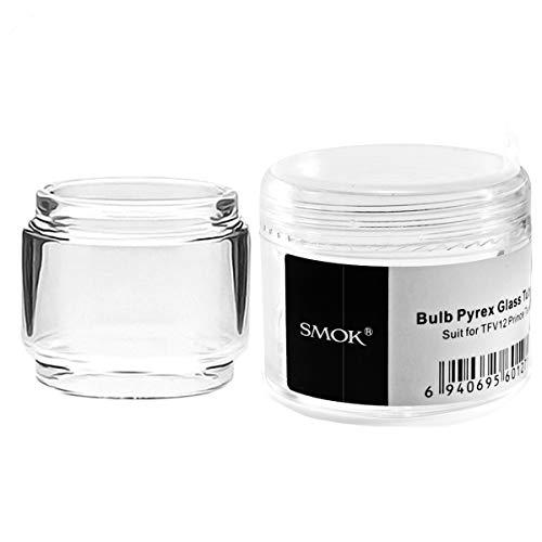 Smok Bulb Pyrex Ersatzglas für TFV12 Prince Tank -8ml, Glas ersatz Enthält Kein Nikotin(1 Stück)