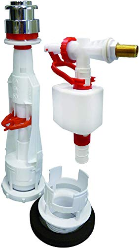 S&M 410925 Pack Completo Baja Universal Pulsar + Grifo Silencioso Lateral para Cisterna, 0 V