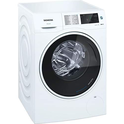 Siemens iQ500 WD14U540EU lavadora Carga frontal Independiente Blanco A - Lavadora-secadora (Carga frontal, Independiente, Blanco, Izquierda, Giratorio, Tocar, LED)