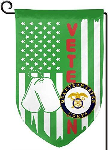 Kxxhvk Wache Flagge Uns Flagge Armee Veteran Uns Armee Veteran Quartiermeister Garten Flagge Haus Banner für Party Yard Home Outdoor Decor