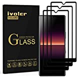 ivoler 3 Unidades Protector de Pantalla para Sony Xperia L4, [Cobertura Completa] Cristal Vidrio Templado Premium, [Dureza 9H] [Anti-Arañazos] [Sin Burbujas]