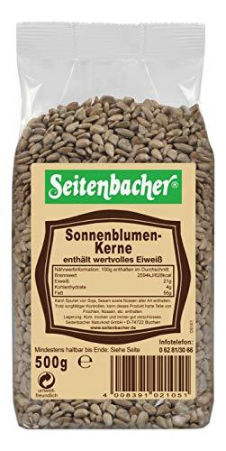 Seitenbacher Sonnenblumenkerne (1 x 500 g Packung)