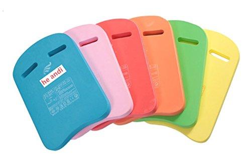 he andi Swimming Training Aid Kickboard - U Design Swim Pool Float Floating Buoy Hand Board Tool Foam for Kids Children Summer ( 1 Pcs only, Color Sent Randomly)