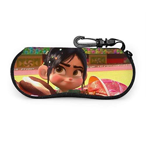 185 Eyeglass Case,Wreck It Ralph Glasses Box, Estuches De Anteojos Duraderos Para Viajes Al Aire Libre,17x8cm