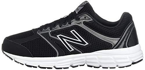 New Balance Men's 460 V2 Running Shoe, Black/Phantom, 6 M US