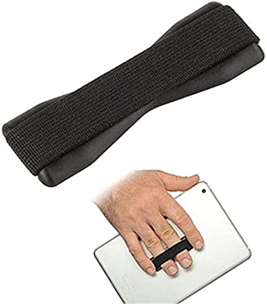MStick Universal Finger Grip Elastic Band Strap and Anti Slip Phone Holder for Apple iPhone Samsung Cell Phones and Tablets(Assorted Colors))