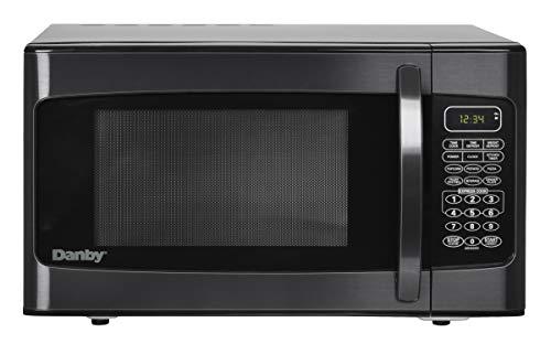 Danby DMW1110BLDB 1.1 cu. ft. Microwave Oven, Black, cu.ft