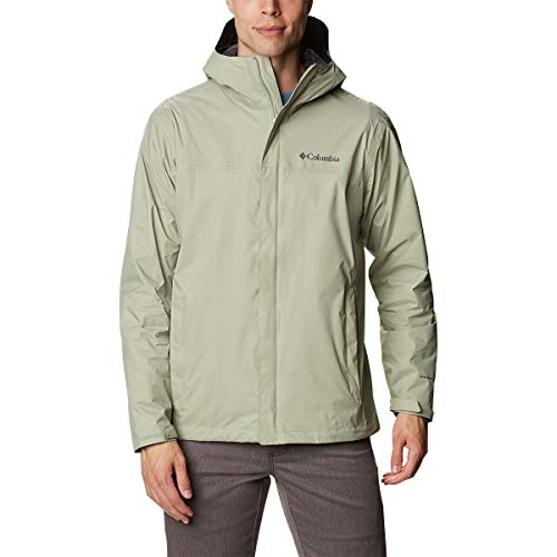 Columbia Men's Big & Tall Watertight II Rain Jacket, Safari, 6X