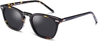 Vintage Polarized Sunglasses for Men Women UV400...