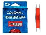 Daiwa BAJO DE LÍNEA ARRACHE Surf Taper Leader - Paquete DE 5 - by 5, Red, 15, 57/100, 23/100