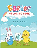 Easter Coloring Book for Kids: Coloring Book with Bunnies and Easter Eggs!