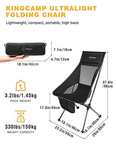 KingCamp Ultralight Compact High Back