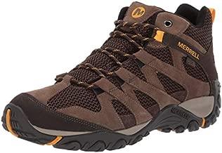 Merrell mens Alverstone Mid Waterproof Hiking Shoe, Merrell Stone, 10 US