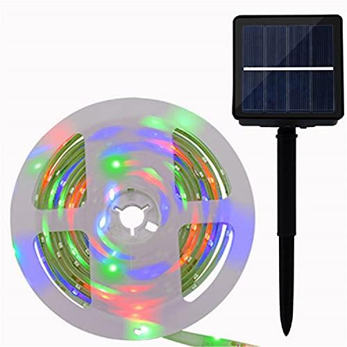 HANBING Tira de Luces LED 16.4Ft/32.8FT Luces LED RGB Tira de Luces LED Flexible para Exteriores Patio Exterior Decoración de Pared Tira de Luces para Dormitorio Techo Cocina