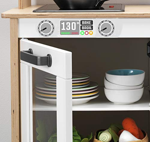 ASVP Shop IKEA Duktig Speel Keuken Sticker Decals Voor Oven En Magnetron